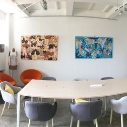 Paintings at co-space all room-1591519350218